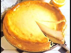 Käsekuchen / Вкусный творожный пирог / Чизкейк - YouTube Camembert Cheese, Dairy, Pie, Desserts, Food, Youtube, Torte, Cake, Meal