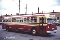 old look gmc buses TTC TORONTO
