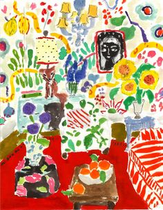Bella Foster reminds me of a modern day Matisse.