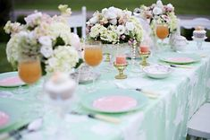 Lace over tablecloths