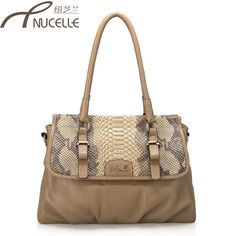 Aliexpress.com : Buy 2013 genuine leather cowhide snake python shoulder tote dual function bag women fashion designer luxury sale items free shipping from Reliable monogram canvas tote bag suppliers on SaraMary Handbag Wholesale . $63.26