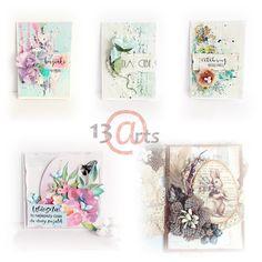 Spring Cards by Marta Debicka
