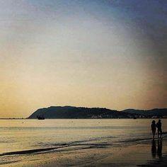 La costa riminese ha qualcosa di magico e davvero unico - Magic landscape from Riviera's coast. Photo by @yourimini | MyTurismoER: Rimini attraverso lo sguardo fotografico di @reetacelli