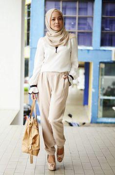 Gaya Casual Hijab Vivy Yusof