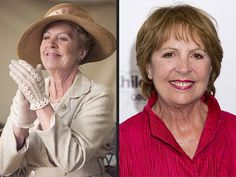 See the Downton Abbey Cast Out of Costume: Penelope Wilton as Isobel Crawley. Downton Abbey Cast, Downton Abbey Fashion, Gentlemans Club, Penelope Wilton, Pbs Tv, Julian Fellowes, Dowager Countess, Maggie Smith, Star Wars
