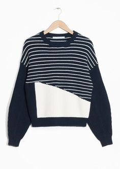 & Other Stories | Striped Cotton Sweater