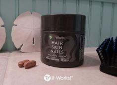 For lusciously thick locks that would make a mermaid jealous, take two and hit the beach! #ItWorksSummerAdventure