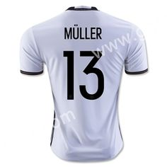2016 European Cup Germany MüLLER Home White Thailand Soccer Jersey-Germany,Thailand Quality National Team| topjersey