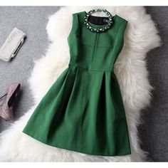 Cool! New Unique Fresh Green Beading Party Dress just $47.99 from ByGoods.com! I can't wait to get it!
