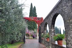 Il Vittoriale, one of the most beautiful gardens in Italy