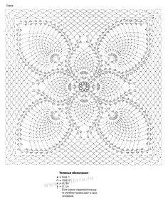 Crochet Pillow Cases, Crochet Doily Rug, Crochet Doily Diagram, Crochet Motif Patterns, Crochet Circles, Granny Square Crochet Pattern, Crochet Tablecloth, Crochet Chart, Crochet Squares