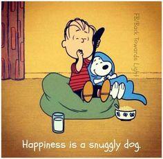 """【スヌーピー 史努比 Snoppy】  Still image of Linus and Snoopy from """"Happiness is a Warm Blanket."""" (Warner Premiere (c) Peanuts Worldwide, LLC. Snoopy Quotes, Dog Quotes, Labrador Quotes, Peanuts Quotes, I Love Dogs, Puppy Love, Charlie Brown And Snoopy, Snoopy And Woodstock, Peanuts Snoopy"""