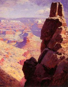 WILLIAM ROBINSON LEIGH Grand Canyon of Arizona
