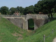 Castle Rising Castle - bridge, via Flickr.