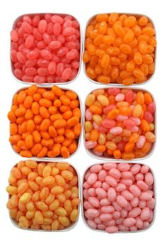 Candy Buffet: Orange and White - Orange Jelly Beans
