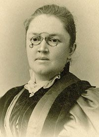 """""""O beautiful for spacious skies for amber waves of grain""""  Katharine Lee Bates.  August 12, 1859: Poet Katharine Lee Bates was inspired to write her best known work, America the Beautiful, after a trip to Colorado's Pikes Peak. The poem became a popular national anthem. She was born in Massachusetts, 154 years ago today."""