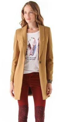 Maison Scotch Tailored Coat  $305