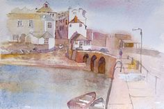 St Ives harbour  fine art print by RobertColdwellArt on Etsy