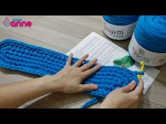 How to make Knit Basket【簡単】長方形底の編み方/How to crochet a rectangle / beginner (T-shirt yarn, trapillo)port baby knitting with yarn Crochet Yarn, Crochet Toys, Crochet Stitches, Free Crochet, Knit Basket, Baby Baskets, Types Of Stitches, Crochet Videos, Crochet Flowers