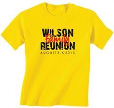 Family Reunion T-Shirt Design R2-14