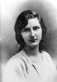 The Princess Giovanna of Italy (1907-2000). She was a daughter of King Vittorio Emanuele III and his wife, The Princess Elena of Montenegro. She was Tsaritsa of Bulgaria (1930-1943) as the wife of Tsar Boris III. Her children were Tsar Simeon II and The Princess Mariya Luisa.