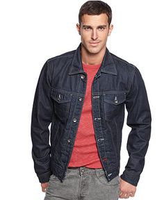 Guess Jeans Jacket, Denim Jacket - Mens GUESS? - Macy's
