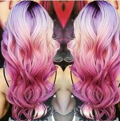 20 heißesten rosa / rot Ombre Frisuren für mittlere und lange Haare, 20 Hüglichkeiten, rosa Ombre Hair Looks , Bob Frisuren Hair Colorful, Multicolored Hair, Bright Hair, Pink Ombre Hair, Red Ombre, Blonde Hair With Color, Blonde Pink, Beautiful Hair Color, Mermaid Hair