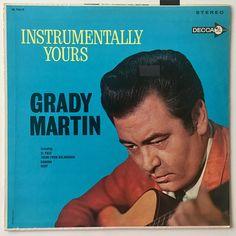 Grady Martin Instrumentally Yours LP Vinyl Record Album