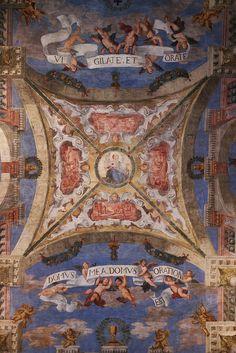 Ceiling fresco by MisterPeter!, via Flickr