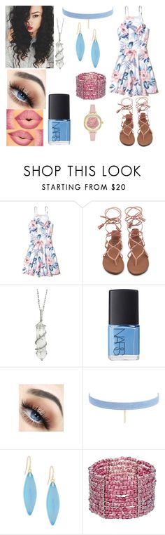 """""""Summer Day"""" by silliavinete8 on Polyvore featuring Hollister Co., Sharon Khazzam, NARS Cosmetics, Jules Smith, Alexis Bittar and Kate Spade"""