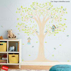 Adesivo de Parede Infantil - Arvore Casinhas Adorei essa sugestão!