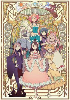 anime: Little Witch Academia Anime Witch, Manga Art, Manga Anime, Anime Art, Lwa Anime, Little Witch Academia Diana, Little Witch Academy, Anime Shows, Magical Girl