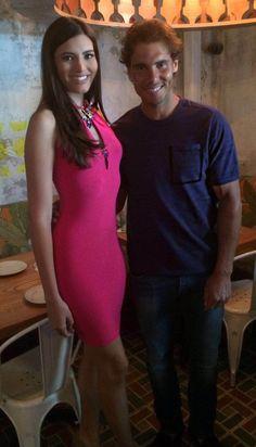 Miss Mundo de Puerto Rico 2016 almuerza con Rafa Nadal -...