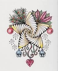 kerstmis pentekening