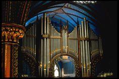 Casavant Frères pipe organ, Basilique Notre-Dame de Montréal, Québec (Canada) - organ installed in 1891