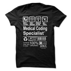 Awesome Tshirt (Deal Tshirt 2 hour) Hot Seller - MEDICAL CODING SPECIALIST -  Coupon Today