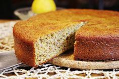 FitFoodManic: Citronovo-mandlový koláč
