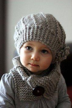 Béret et foulard
