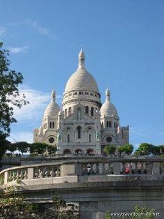 Le Sacre Coure, Paris France