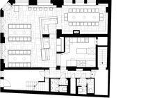 达-罗瑞塔 餐馆, Stuttgart. 项目客户 Ippolito Fleitz Group – Identity Architects.
