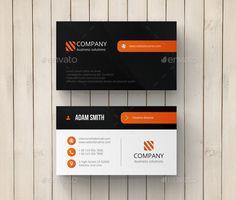 Creative Business Card Template #design Download: http://graphicriver.net/item/creative-business-card/10829795?ref=ksioks