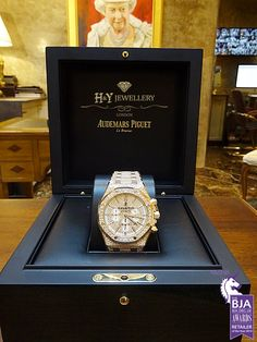 Audemars Piguet Royal Oak Chronograph Rose Gold With After Set Diamonds - ref 26320OR.OO.1220OR.02