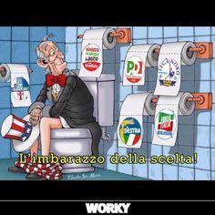 il popolo del blog,: hai varietà di scelta nella carta igienica