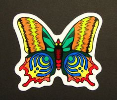 BASSNECTAR bass butterfly 3.0 STICKER by BBDMerch on Etsy, $3.85