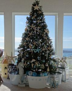 Christmas tree decoration sea theme