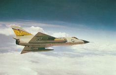 F-106 Delta Dart S/N 0-90002 in flight