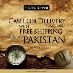 Free shipping across Pakistan.