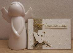 Engel-Weihnachtskarte