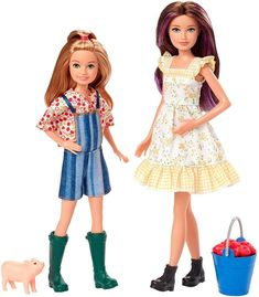 2020 News about the Barbie Dolls! – Barbie Doll, friends and family history and news. From 1959 to the present … Mattel Barbie, Barbie Kids, Vintage Barbie Dolls, Barbie And Ken, Chelsea Doll, Barbie Sisters, Disney Dolls, Barbie Dream, Barbie Accessories