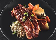 Bonappetit - Soy Braised Pork Country Ribs with Carrots and Turnips